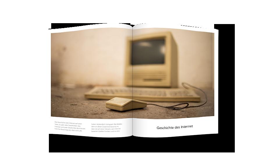 Alter Mac mit Maus