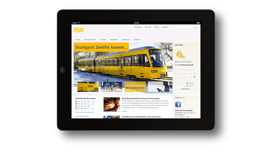 SSB - Stuttgarter Straßenbahnen AG