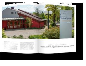 Redaktionelle Arbeit & Texten für die Website Waldaupark