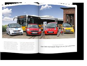 Stuttgart Services – elektromobile und urbane Angebote