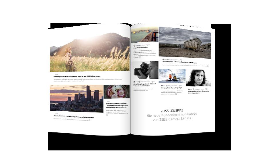 Magazin mit Lenspire Blog Beiträgen