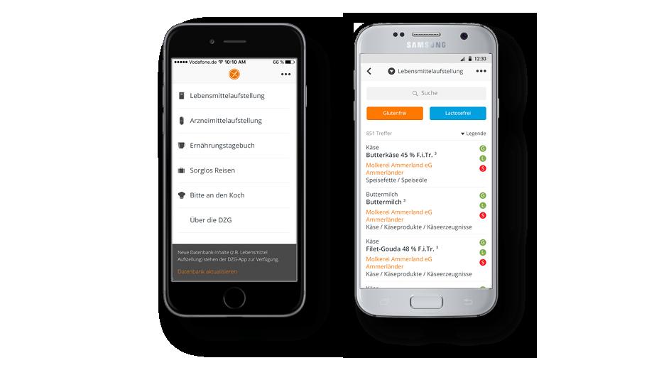 Mehr Lebensqualität durch DZG App