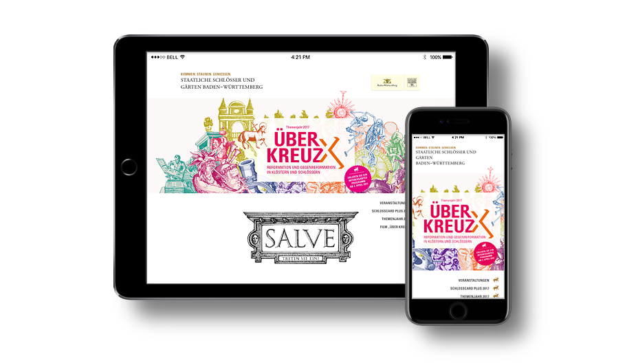 Landingpage SSG Themenjahr Über Kreuz